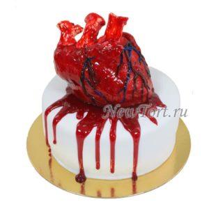 Сердце с кровью