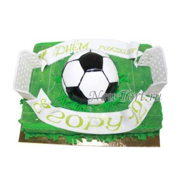 Торт ворота и мяч