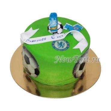 Торт для болельщика Челси