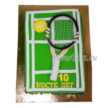 Торт Большой теннис