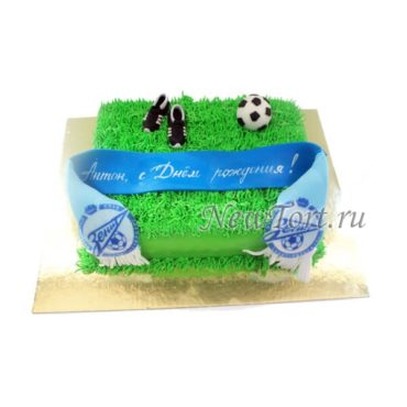 Торт для болельщика Зенита