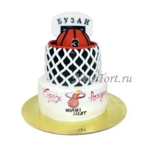 Торт баскетбольная корзина