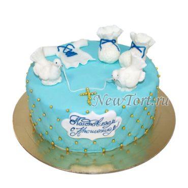 Торт пинетки и голуби