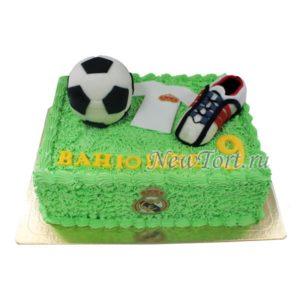 Торт футбольный без мастики