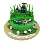 Торт бывалый  рыбак