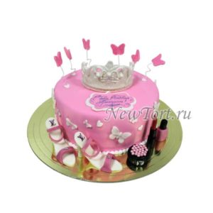 Торт с маленькой принцессой