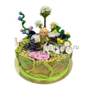 торт Маленькая Алиса в стране чудес