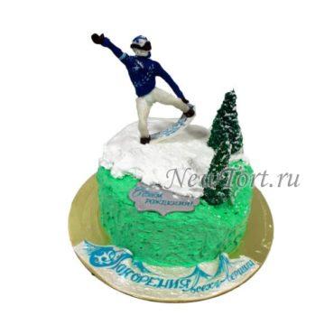 Торт сноубордист