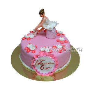 Торт балерина