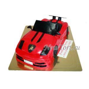 Торт спортивная машина