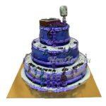 Большой музыкальный торт