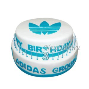 Корпоративный торт ADIDAS