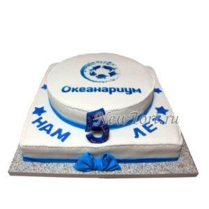 Торт для Океанариума
