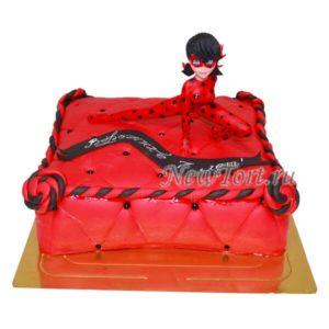 Торт подушка с Леди Баг