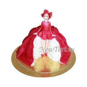 Торт-кукла со шляпой