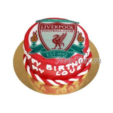 Торт для болельщика Ливерпуля