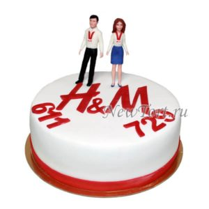 Корпоративный торт H&M