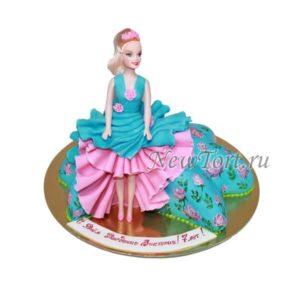 Кукла в бирюзовом