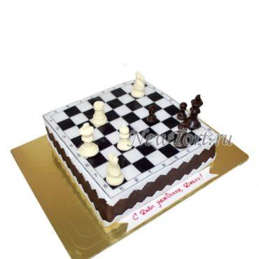 Торт шахматная комбинация