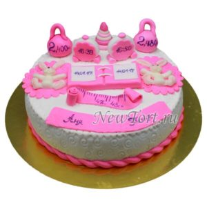 Торт Рождение близняшек