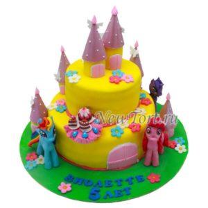 Торт Литл пони в замке