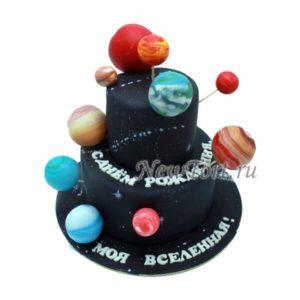 Торт моя вселенная