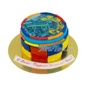 Торт Лего на картинка