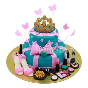 Торт для модницы