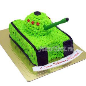 Торт-танк без мастики