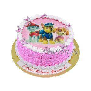 Торт щенячий патруль на картинке