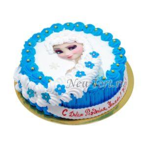 Торт Эльза без мастики