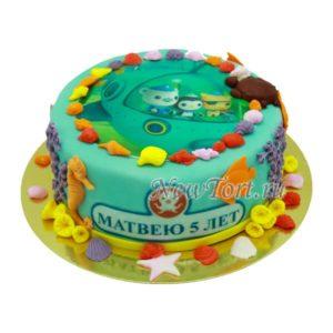 Торт Октонавты