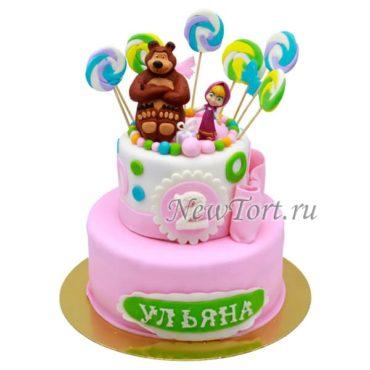 Маша и Медведь в сладостях -2