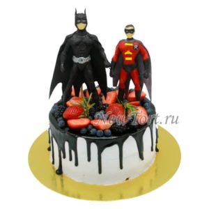 торт Бэтмен и Робин
