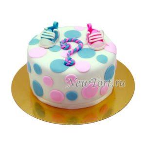 Торт Кто там? Мальчик или девочка