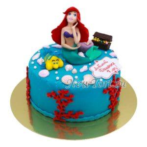 Торт мечты русалочки