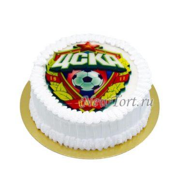 Торт с логотипом ЦСКА