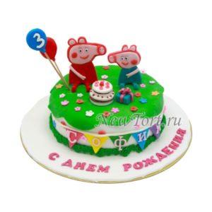 торт Свинка Пеппа и братик