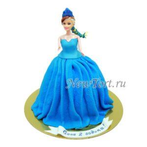 Кукла в синем