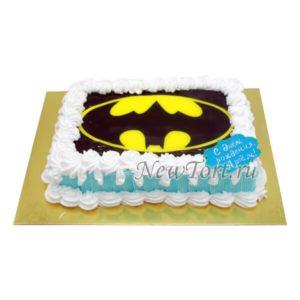 Торт бэтмен без мастики
