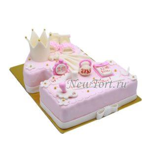 Торт-единичка с короной