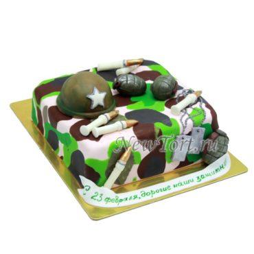 Торт «Военный»