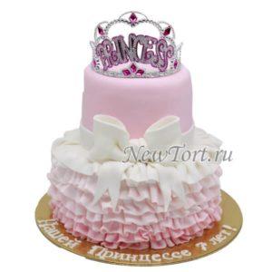 Торт настоящей принцессы