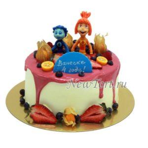 торт Симка и Нолик