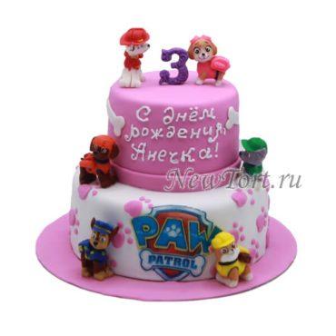 Торт щенячий патруль для девочки