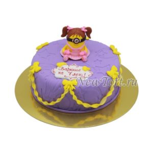 Миньон на тортике