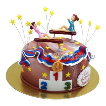 Торт спортивная гимнастика