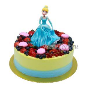 Торт Золушка в ягодах