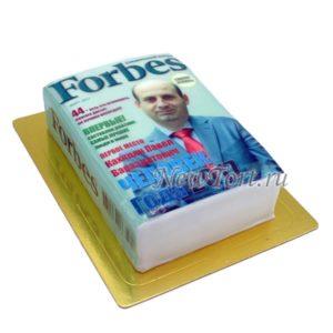 Торт журнал Форбс фотопечать