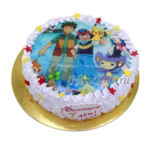 Торт Пакемон на картинке